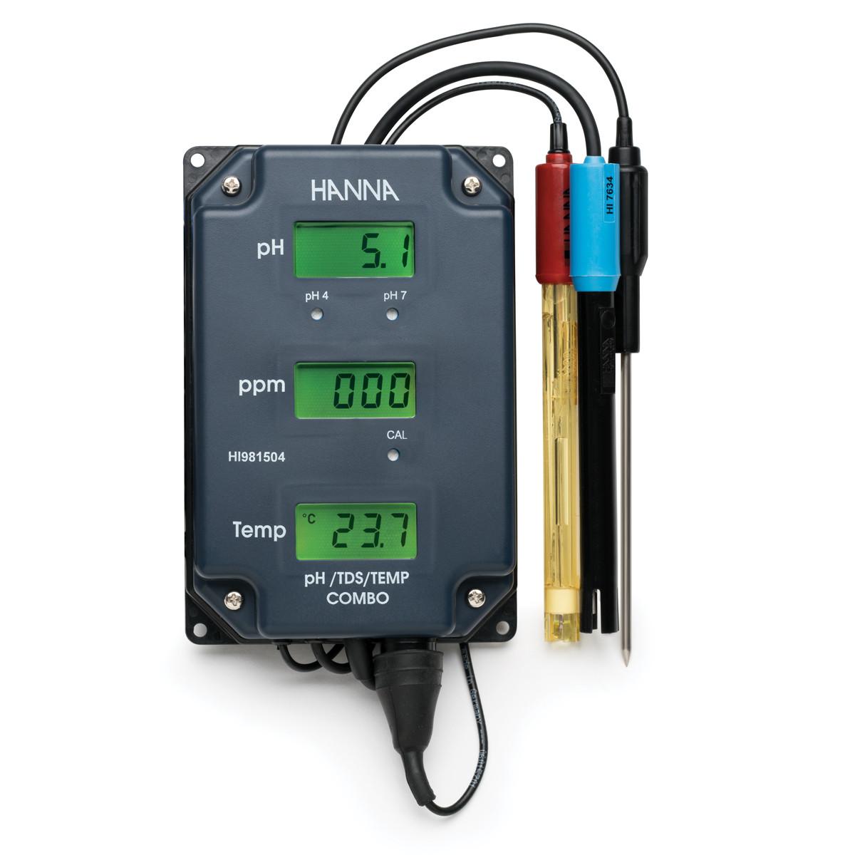pH/TDS/Temperature Monitor