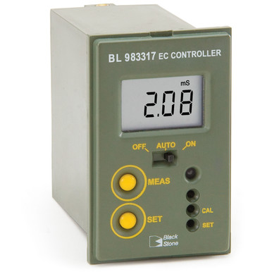 Conductivity Mini Controller w/ Low-Range Relay (0.00-10.00 mS/cm)
