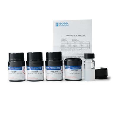 Turbidity Calibration Standards for HI83749