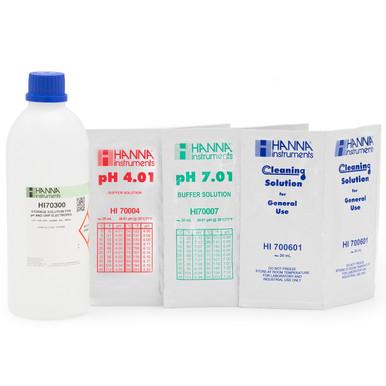 General pH Calibration Bundle, pH 4 & 7 (Sachets)