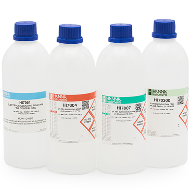 General pH Calibration Bundle, pH 4 & 7 (Bottles)