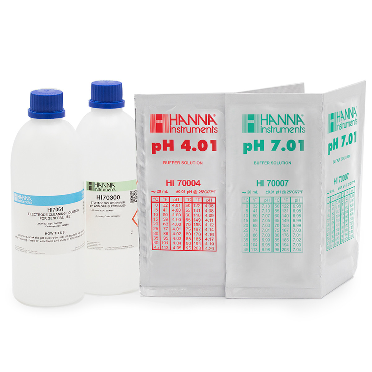 pH Calibration Bundle for Testers, pH 4 & 7