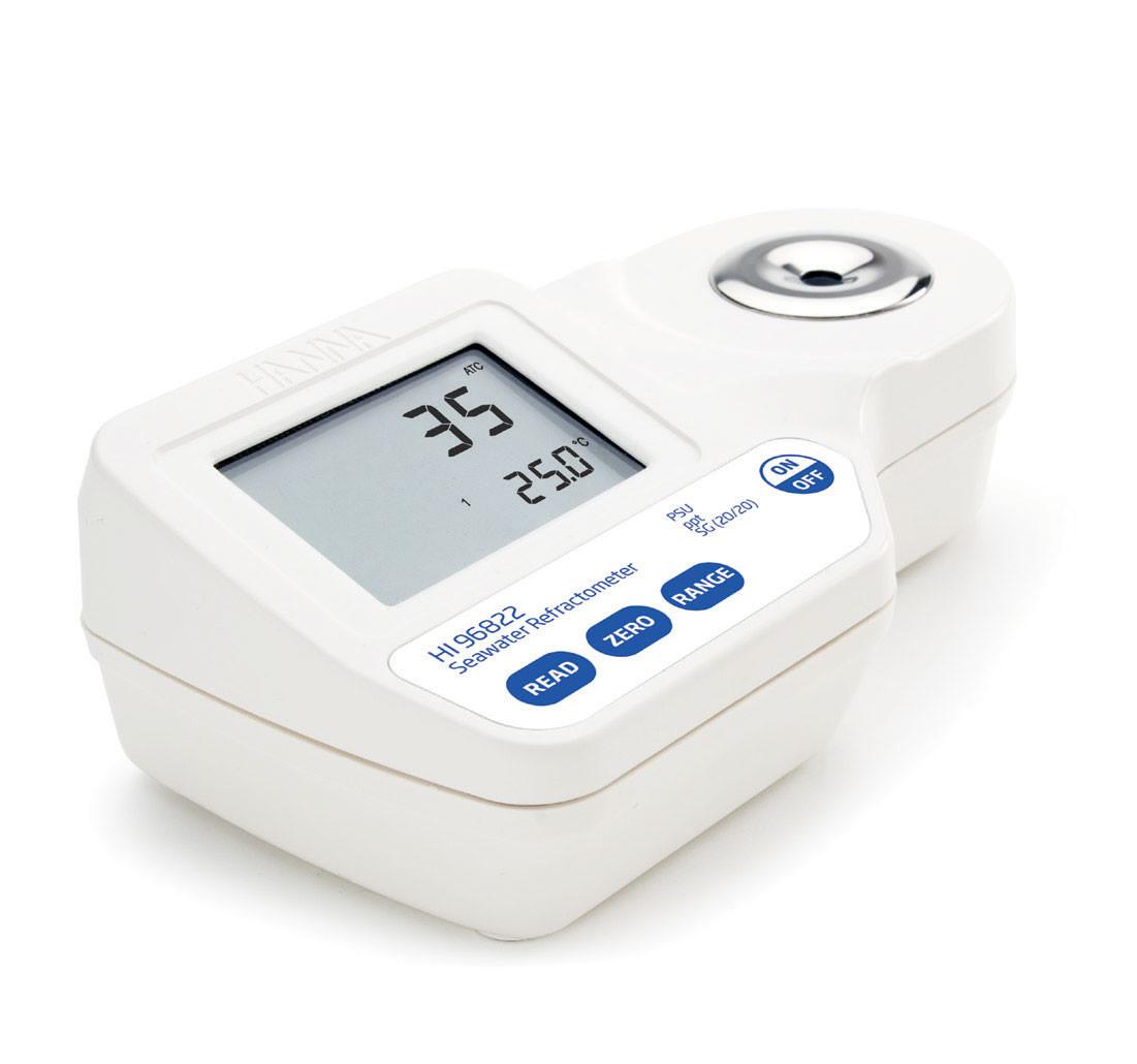 Digital Refractometer for Seawater Analysis