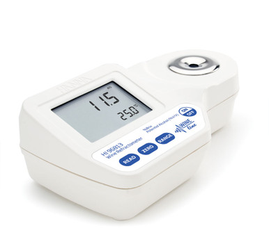 Digital Refractometer for % Brix and Potential Alcohol (% V/V) Analysis in Wine, Must and Juice