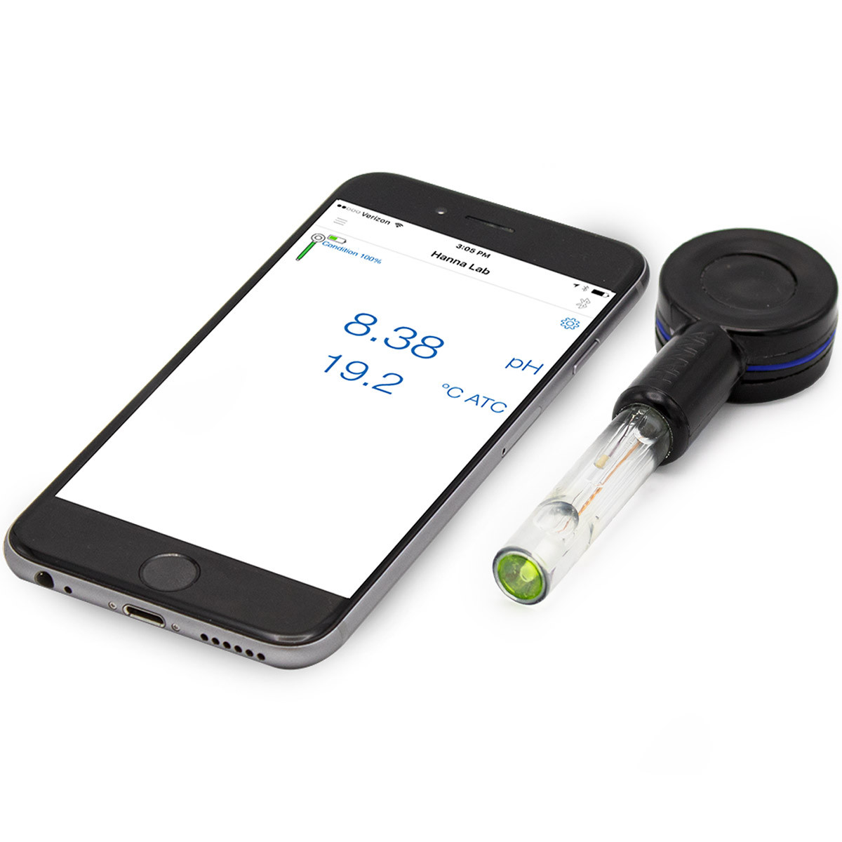 HALO®  Wireless pH Meter for Flat Surfaces