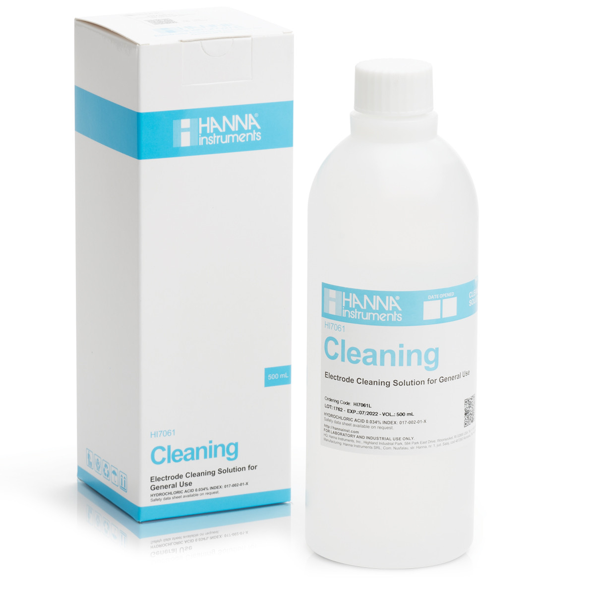 General Purpose pH Electrode Cleaning Solution (500 mL)
