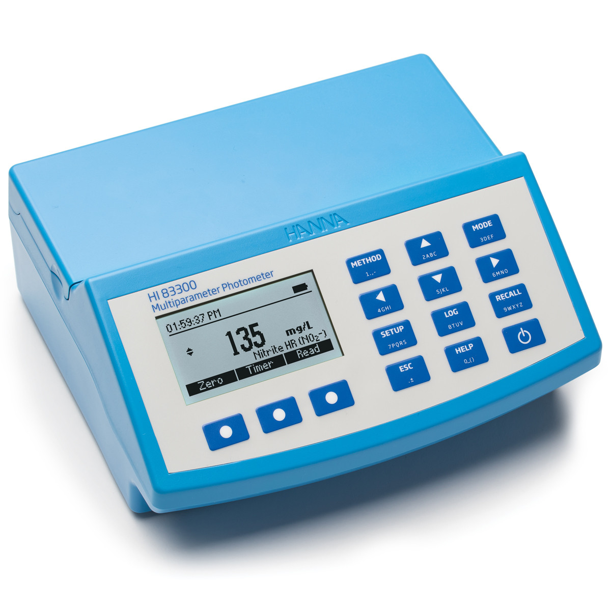 Multiparameter Benchtop Photometer and pH meter