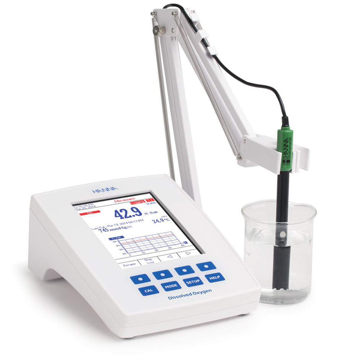 Laboratory Research Grade Benchtop Dissolved Oxygen and BOD Meter