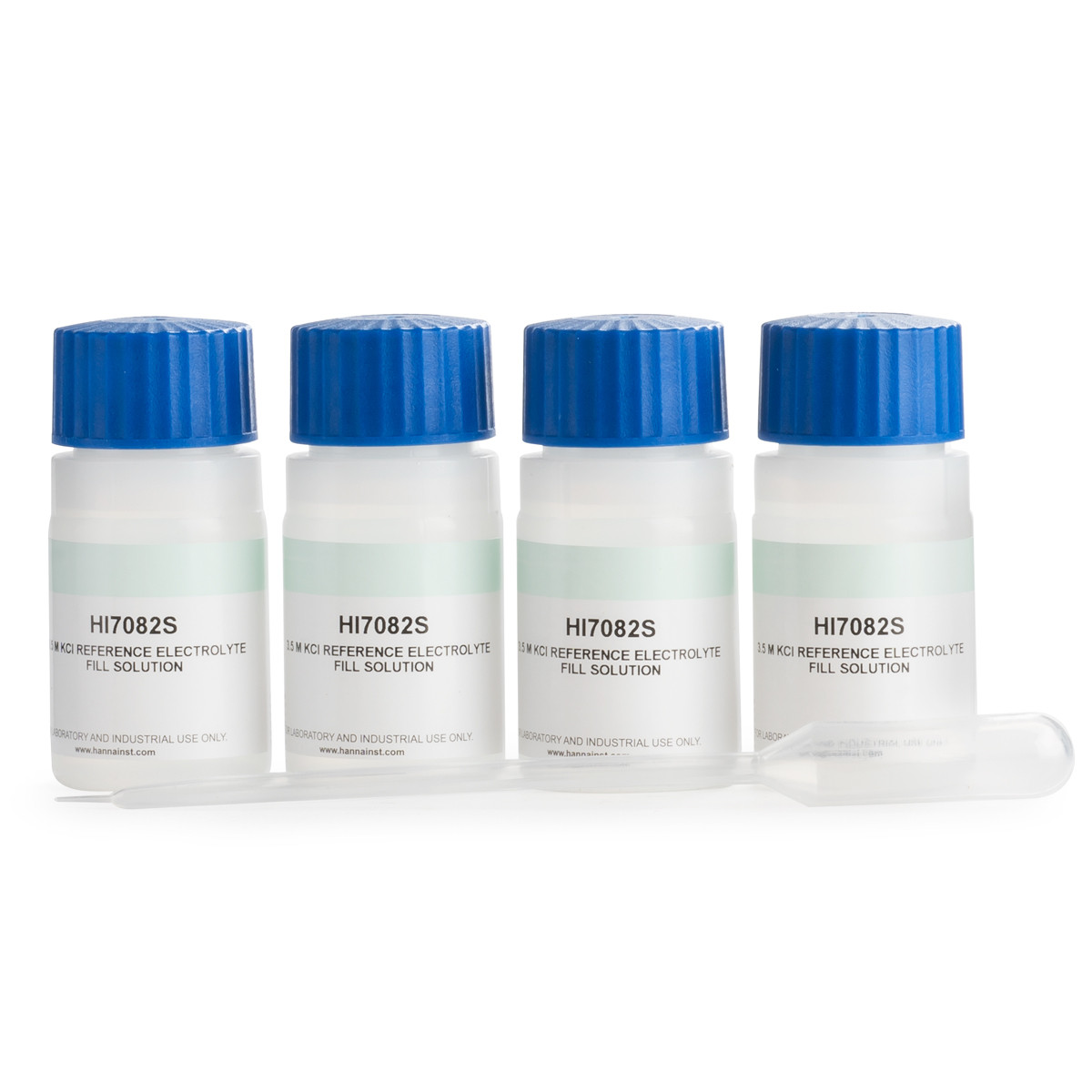 3.5M KCl electrolyte fill solution for double-junction electrodes (4 x 30mL)