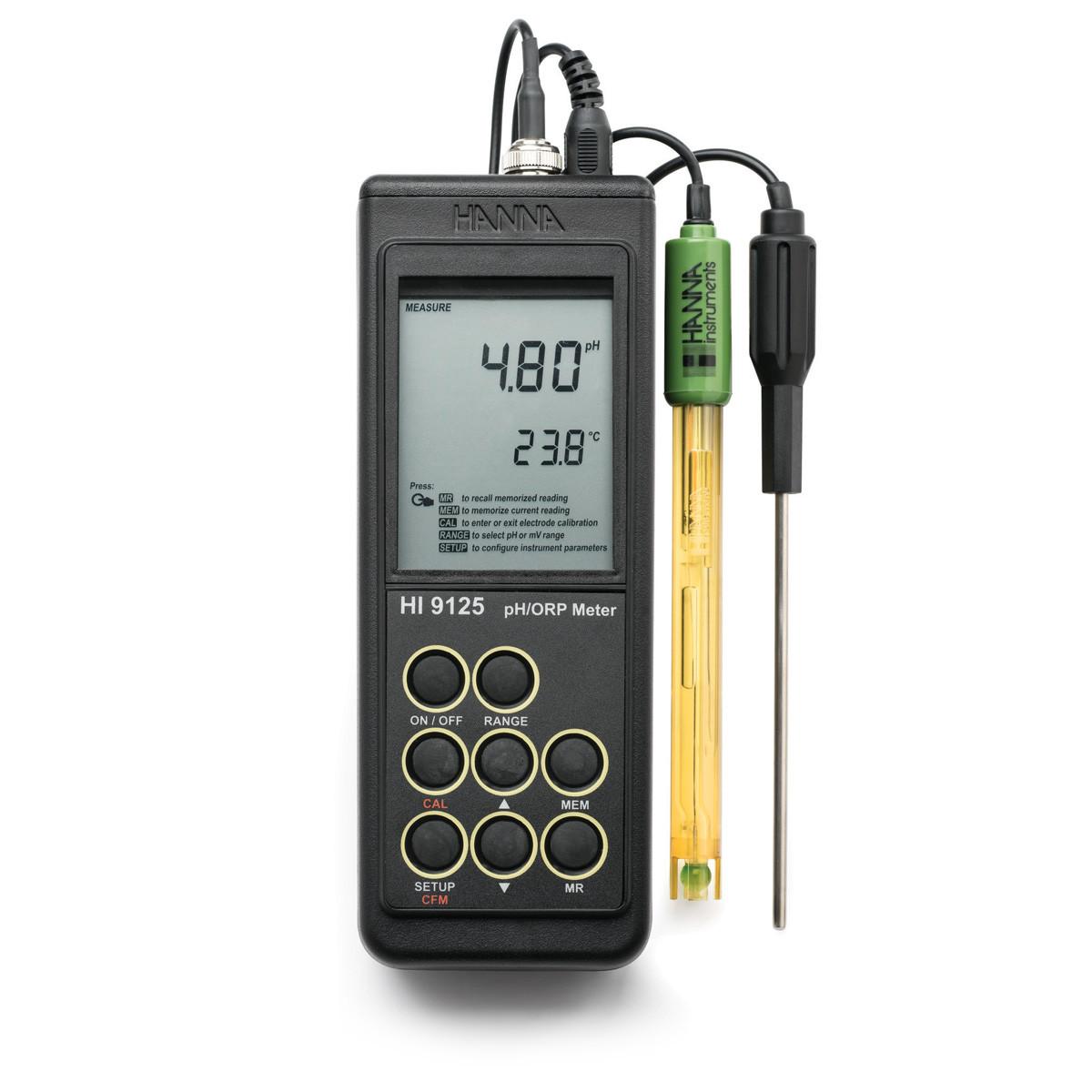 Waterproof Portable pH/mV Meter