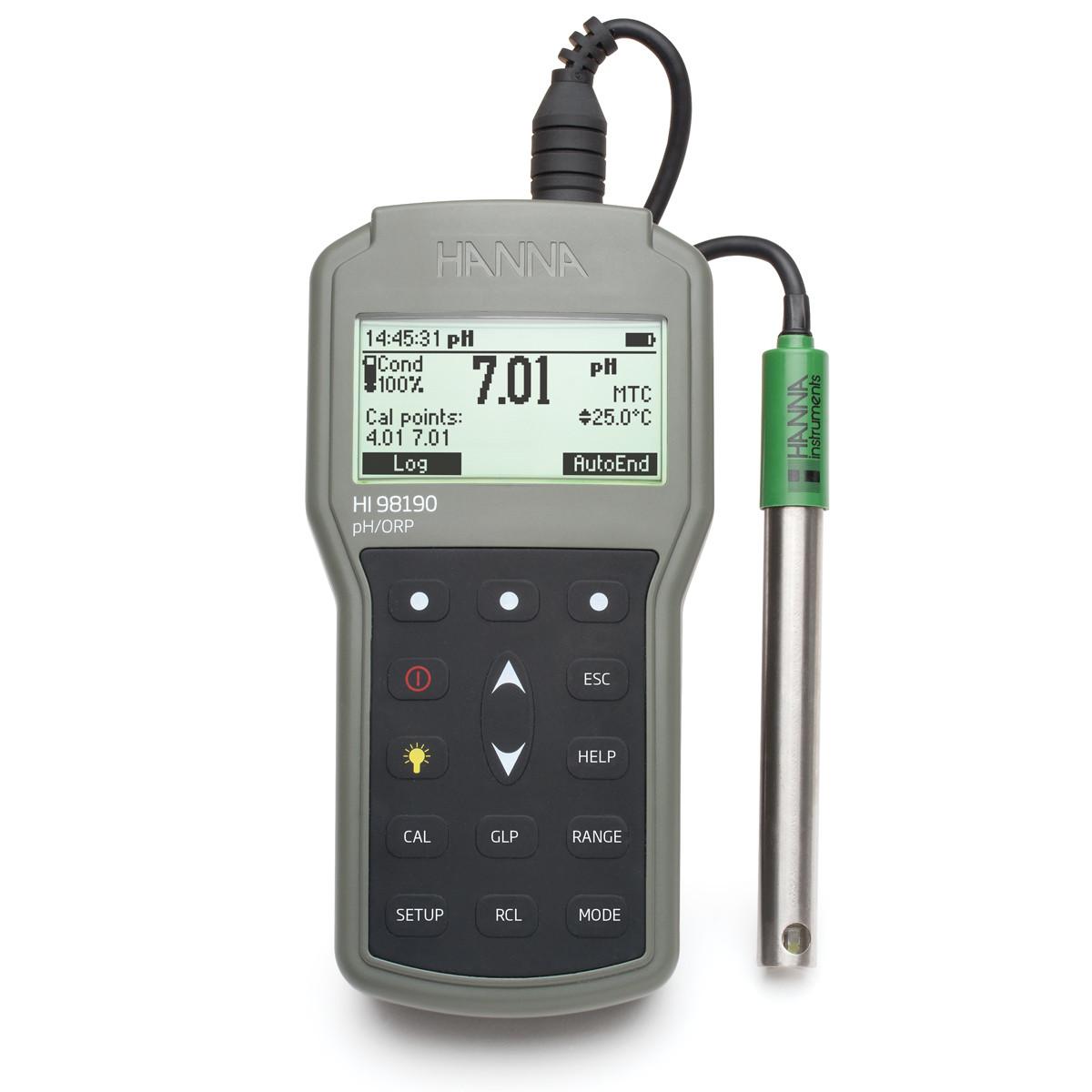 Professional Waterproof Portable pH/ORP Meter
