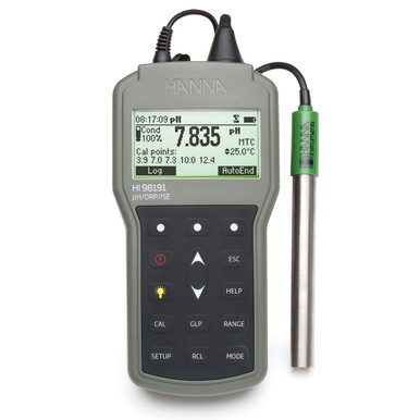 Professional Waterproof Portable pH/ORP/ISE Meter