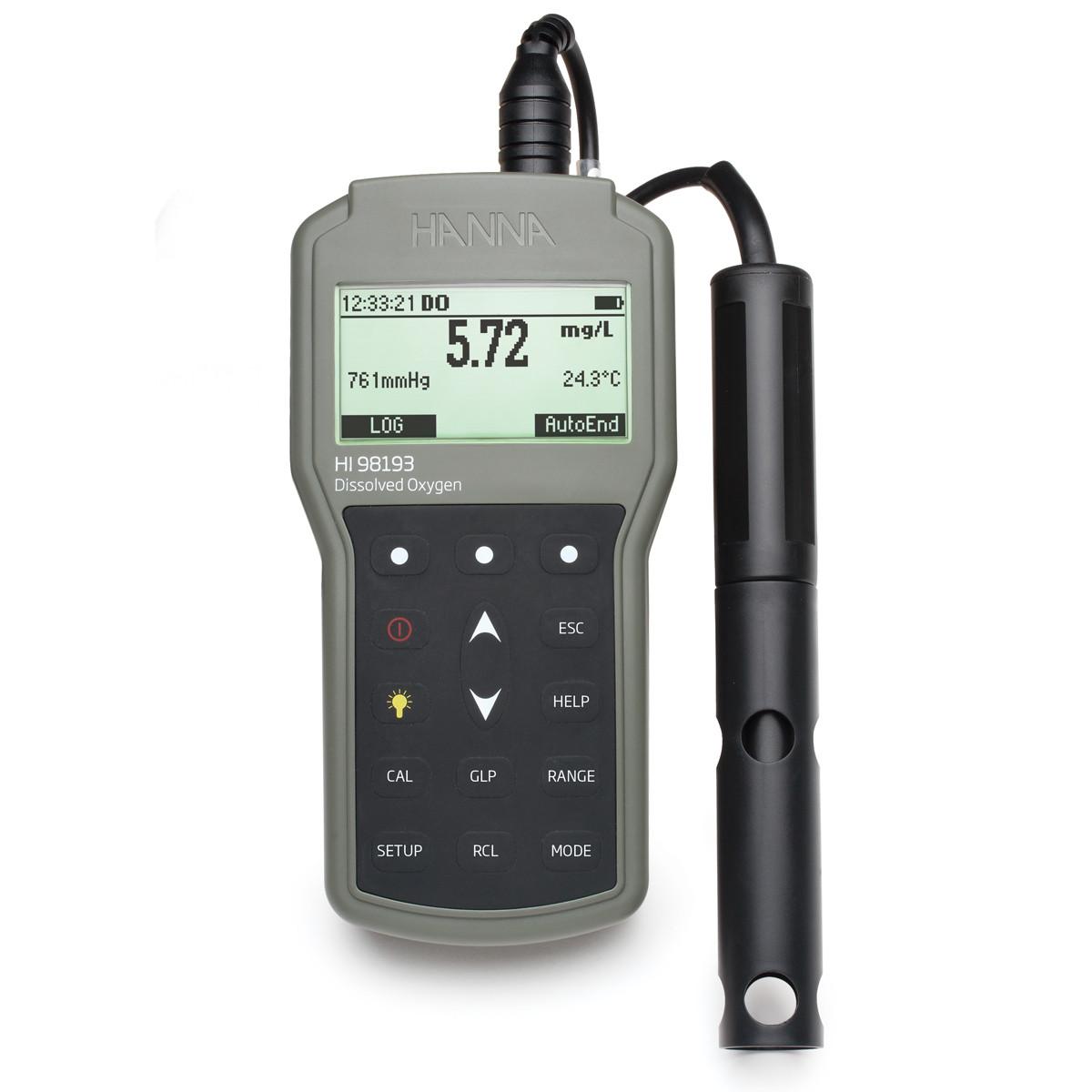 防水便携式溶解氧和生化需氧量仪-HI98193