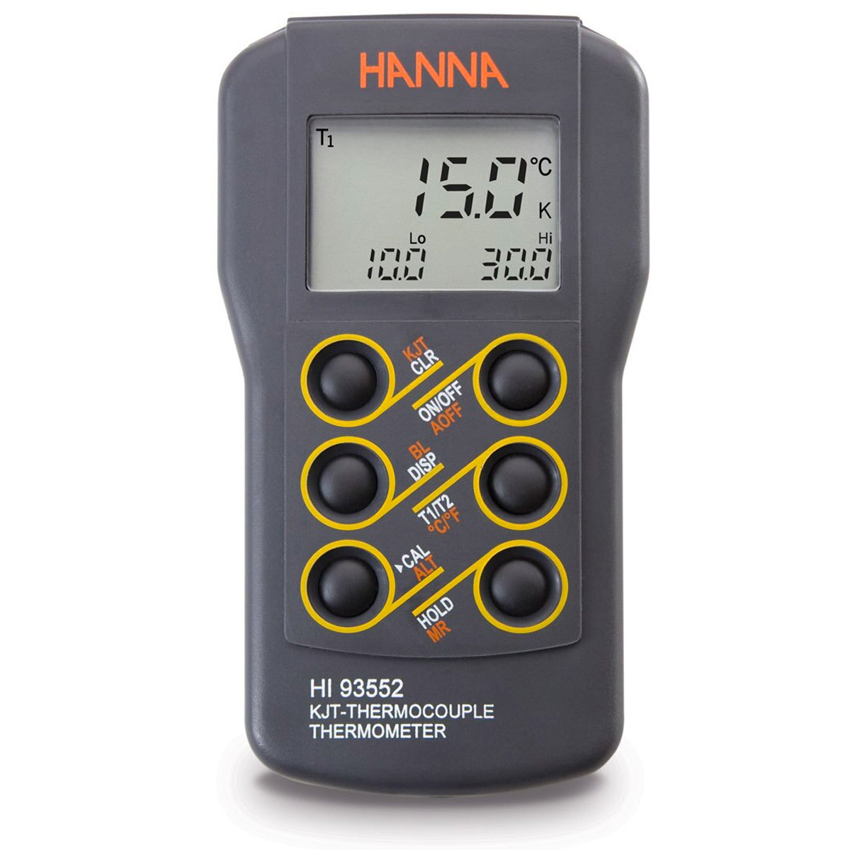 Advanced Dual Channel K, J, T-Type Thermocouple Thermometer