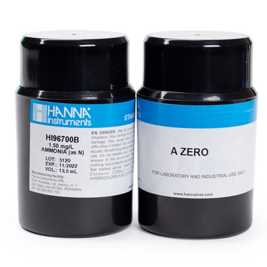 Ammonia Low Range CAL Check™ Standards