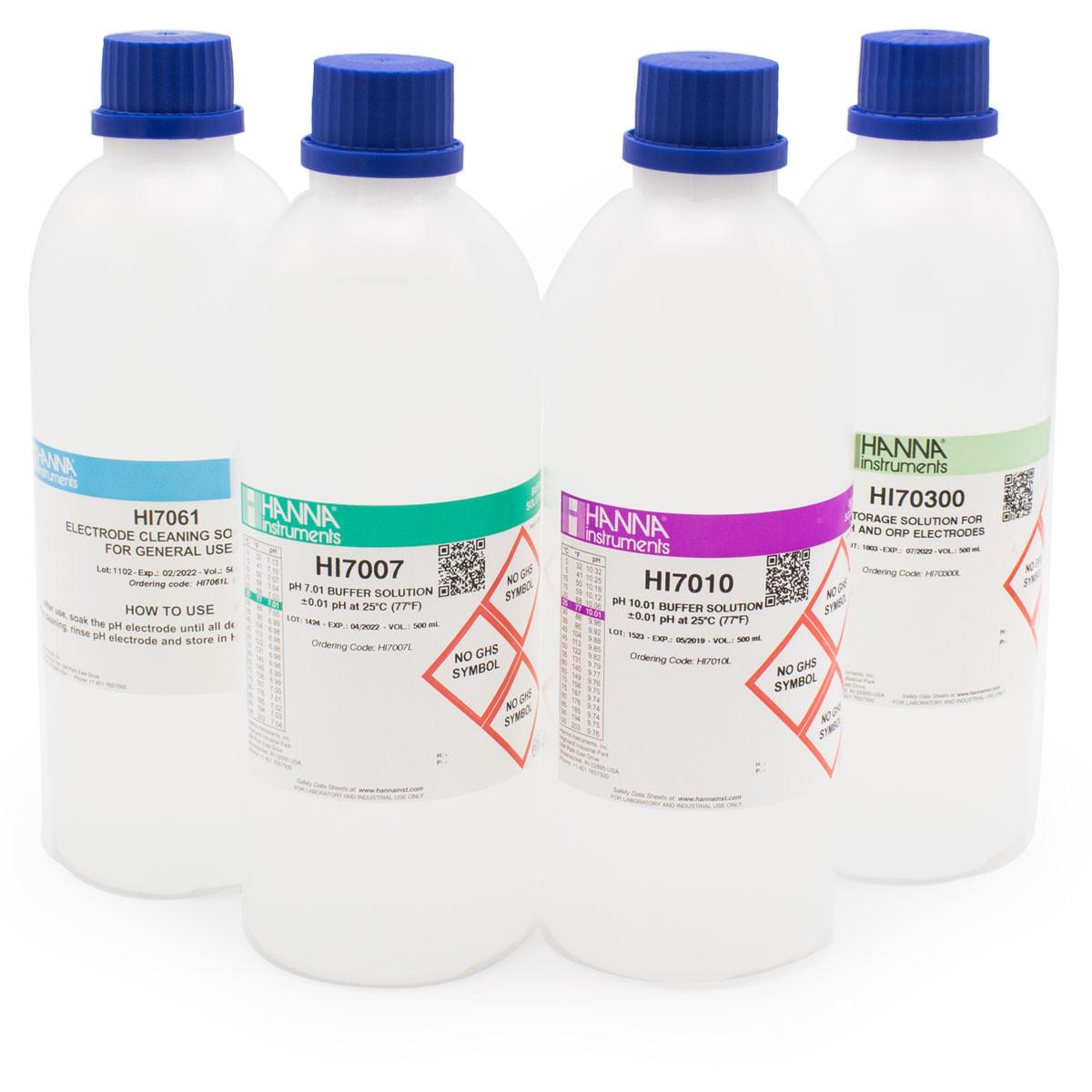 General pH Calibration Bundle, pH 7 & 10 (Bottles)