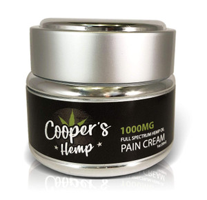 Cooper's Hemp Full Spectrum 1000mg CBD Creams