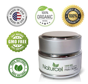 Naturcel Full Spectrum 1000mg CBD Creams