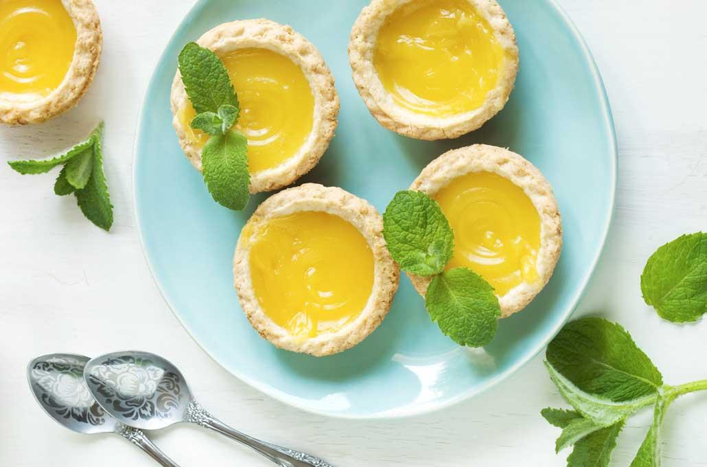 Easy Lemon Curd Tart Recipe