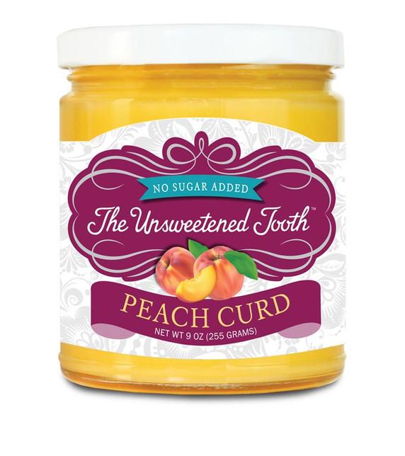 No Sugar Added Peach Curd