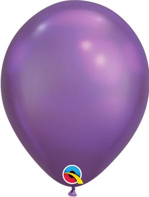 "7"" Chrome Purple - 100 Ct."