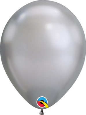 "7"" Chrome Silver - 100 Ct."