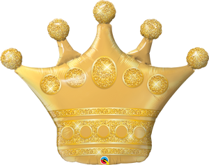 "41"" Golden Crown Shape"