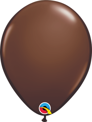 "11"" Qualatex Chocolate Brown - 100 Ct."