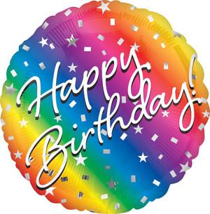 """18"""" Ombre Birthday"""