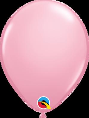 "5"" Qualatex Pink - 100 Ct."