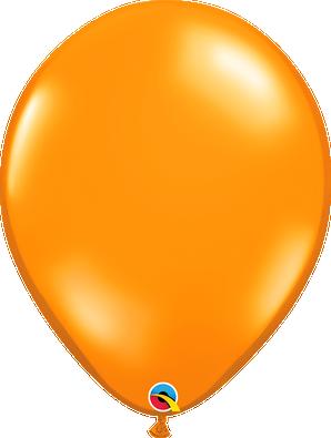 """16"""" Qualatex Mandarin Orange - 50 Ct."""