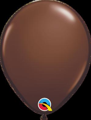 "5"" Qualatex Chocolate Brown - 100 Ct."