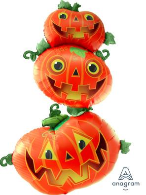 "61"" Multi-balloon Giant Stacking Pumpkins"
