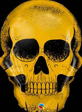 """36"""" Golden Skull"""
