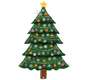 "60"" Holographic Glitter Christmas Tree"