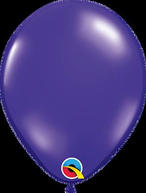 """5"""" Qualatex Quartz Purple - 100 Ct."""