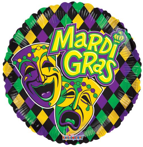 "18"" Mardi Gras Mask"