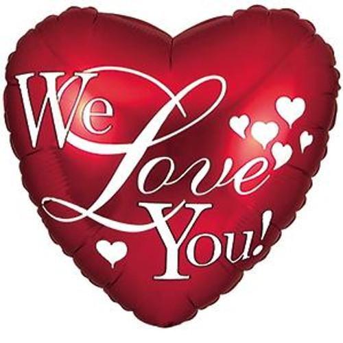 """18"""" We Love You Script"""