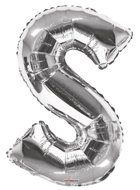 """34"""" Silver S"""