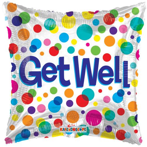 "18"" Get Well Dots"