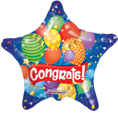 "18"" Congrats Festive Gellibean"