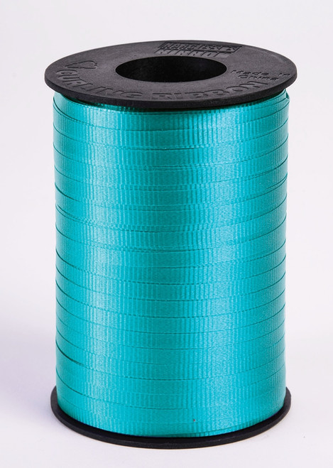 Aqua Curling Ribbon