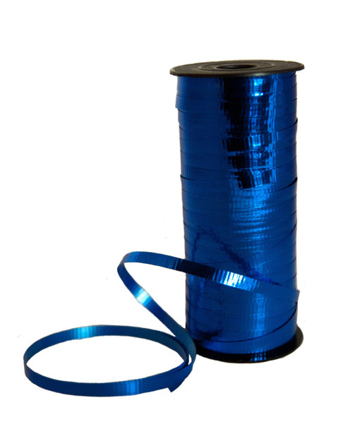 Metallic Royal Blue Curling Ribbon