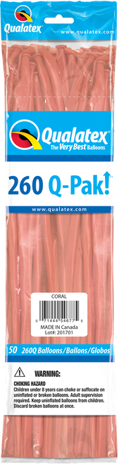 260Q Qualatex QPAK Coral - 50 Ct.