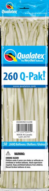 260Q Qualatex QPAK Diamond Clear - 50 Ct.