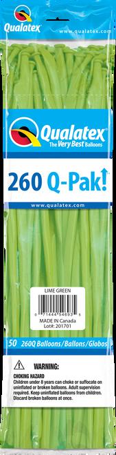 260Q QPAK Lime Green