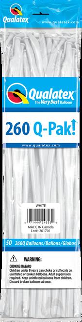 260Q Qualatex QPAK White - 50 Ct.