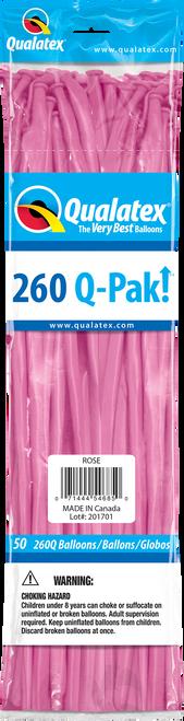 260Q Qualatex QPAK Rose - 50 Ct.