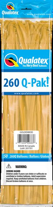 260Q QPAK Goldenrod