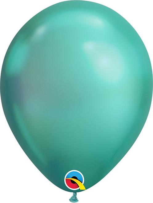 "11"" Qualatex Chrome Green - 25 Ct."